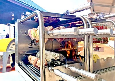 el charro rotisserie cooking food